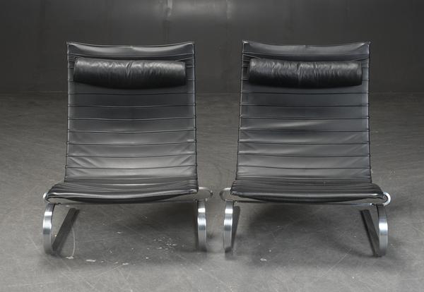 Poul Kjaerholm  Lounge chair. PK20  Fritz Hansen (3).jpg
