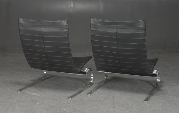 Poul Kjaerholm  Lounge chair. PK20  Fritz Hansen (4).jpg