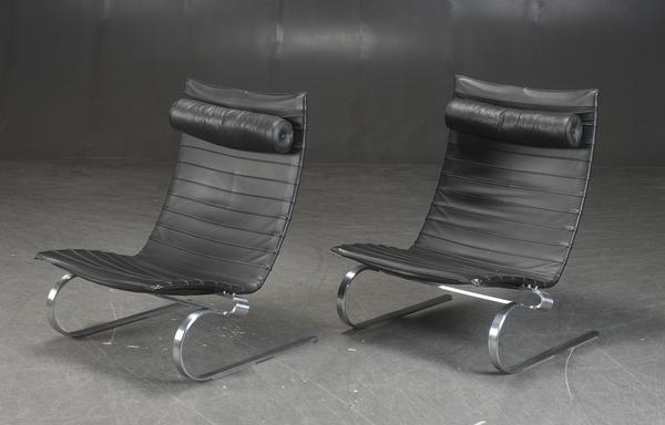Poul Kjaerholm  Lounge chair. PK20  Fritz Hansen (5).jpg