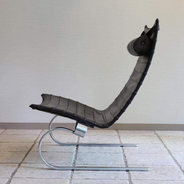 Poul Kjaerholm  Lounge chair. PK20 (10).jpg