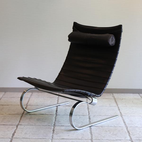 Poul Kjaerholm  Lounge chair. PK20 (11).jpg