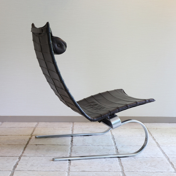 Poul Kjaerholm  Lounge chair. PK20 (8).jpg