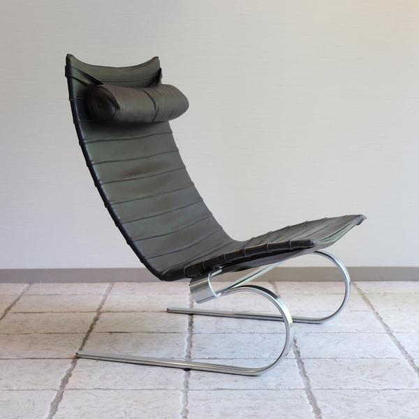 Poul Kjaerholm  Lounge chair. PK20 (9).jpg
