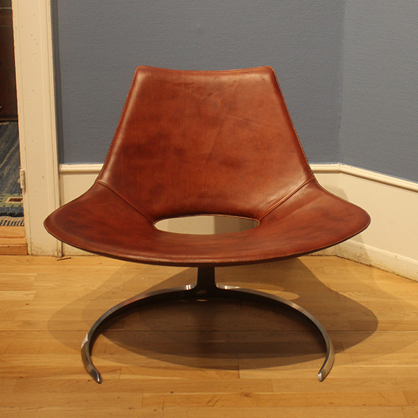 Preben Fabricius, Jørgen Kastholm  Lounge chair .Scimitar Model IS-63  Ivan Schlechter (1).jpg