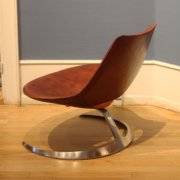 Preben Fabricius, Jørgen Kastholm  Lounge chair .Scimitar Model IS-63  Ivan Schlechter (3).jpg